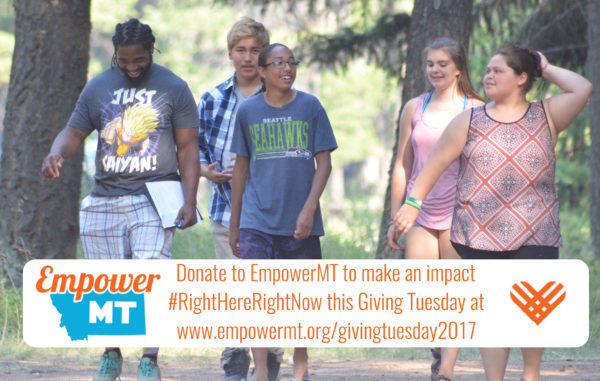 Giving Tuesday 2017 – Making an Impact #RightHereRightNow