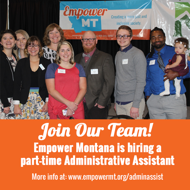 We Are Hiring: Part-Time Administrative Assistant